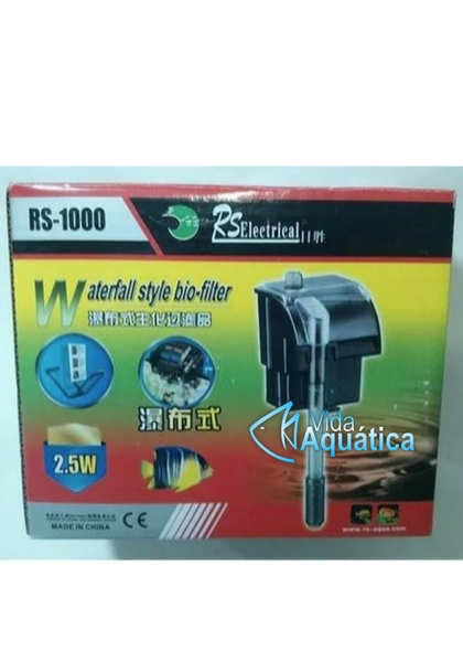 RS Aqua Filtro Hang On RS-1000 600 l/h 220v