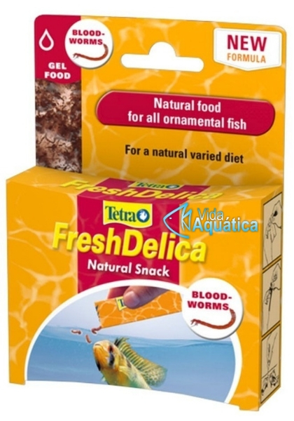 Tetra FreshDelica Bloodworms 48 gr 16 Saches
