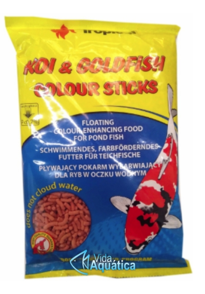 Tropical Koi & Goldfish Colour Sticks 90g