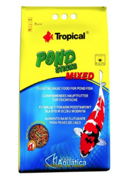 Tropical Pond Sticks Mixed Bag 400g
