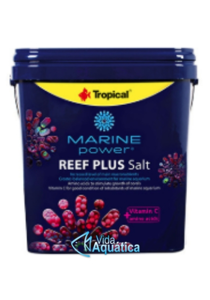 Tropical Marine Power Reef Plus Salt Balde 5kg