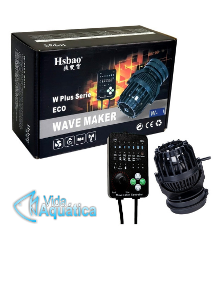 Hsbao Wave Maker  W-10 Plus 4.000l/h Max DC24v 10w