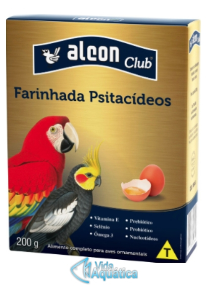 Alcon Club Farinhada c/ ovo p/ Psitacideos 700g