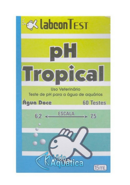 Labcon Teste PH Tropical 60 Testes 15 ml