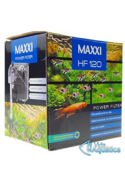 Maxxi Power Filtro Hang On HF-120 AC 220v 120 l/h
