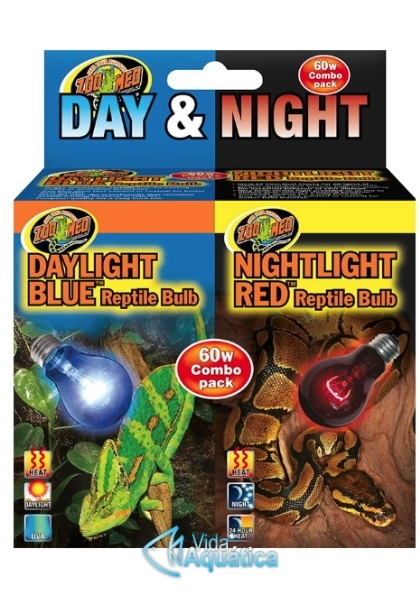 ZooMed Day/Night Repile Bulb Combo DBC-1