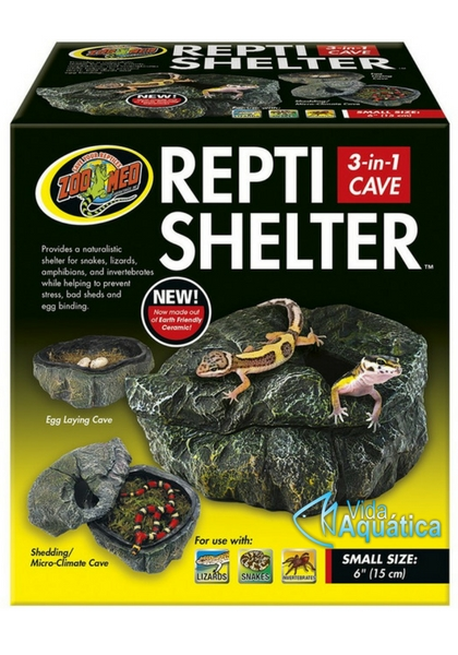 "Zoo Med Repti Shelter 3 in 1 Large 6"" 15 cm RC-30"