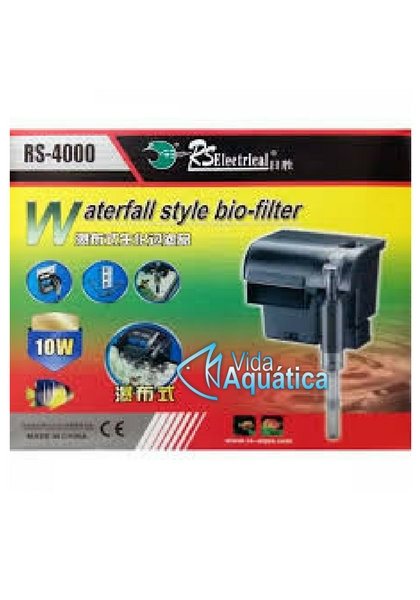RS Aqua Filtro Hang On RS-4000 1600 l/h 220v